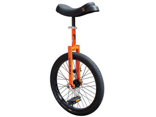QU-AX Luxus Ethjulet cykel, orange/black